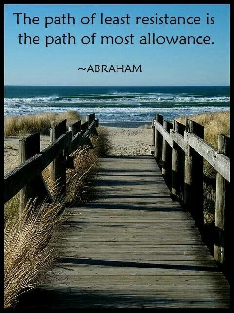 The Law Of Allowing